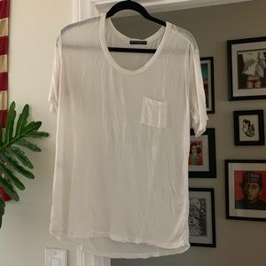 Brandy Melville Sheer Stretch Tee